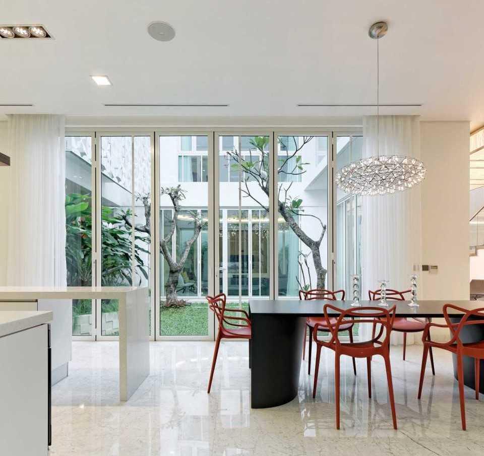 Atelier Cosmas Gozali Green Garden Residence West Jakarta West Jakarta Dining Room Kontemporer  31275