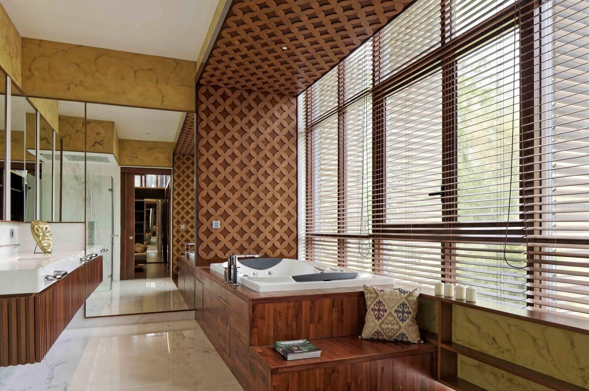 Atelier Cosmas Gozali Denpasar Residence At Kuningan Jakarta, Indonesia Jakarta, Indonesia Bathroom  <P>Photo By Fernando Gomulya</p> 2285