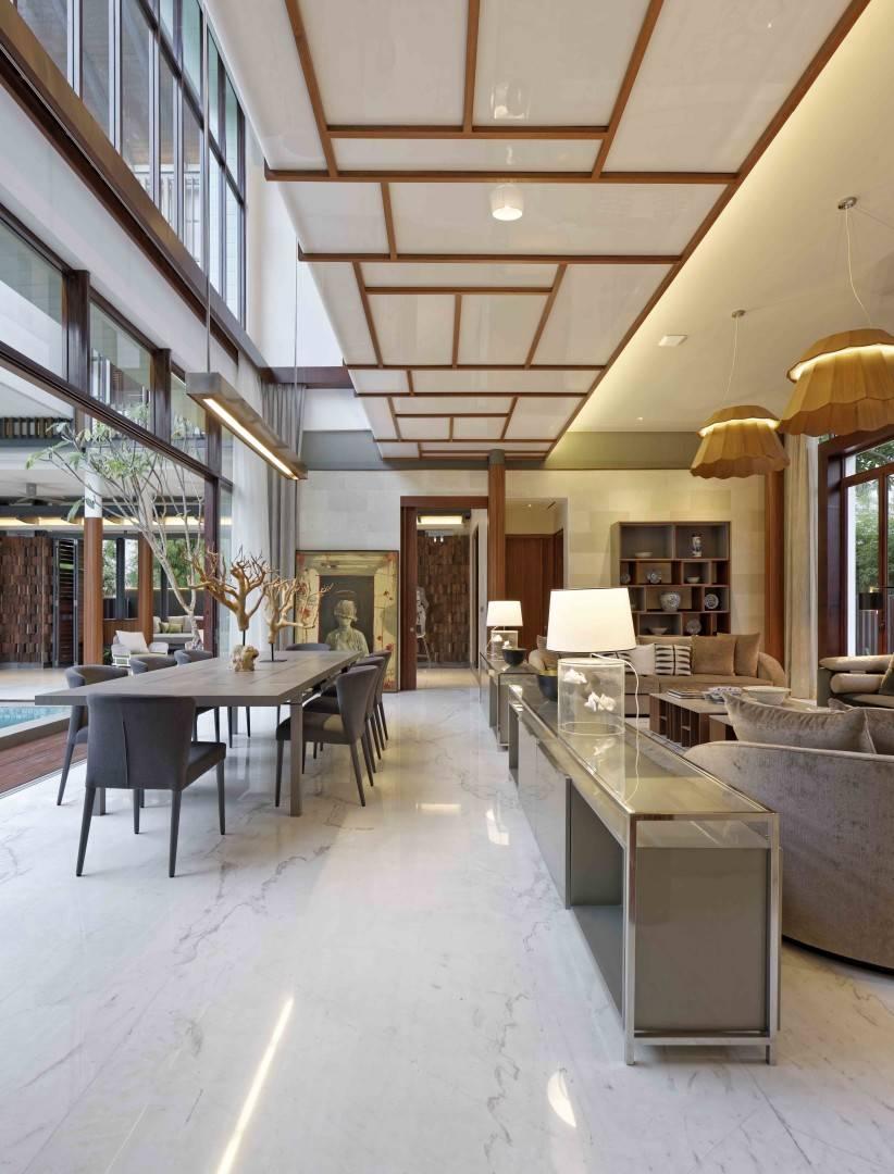 Atelier Cosmas Gozali Denpasar Residence At Kuningan Jakarta, Indonesia Jakarta, Indonesia Living Room  <P>Photo By Fernando Gomulya</p> 2286