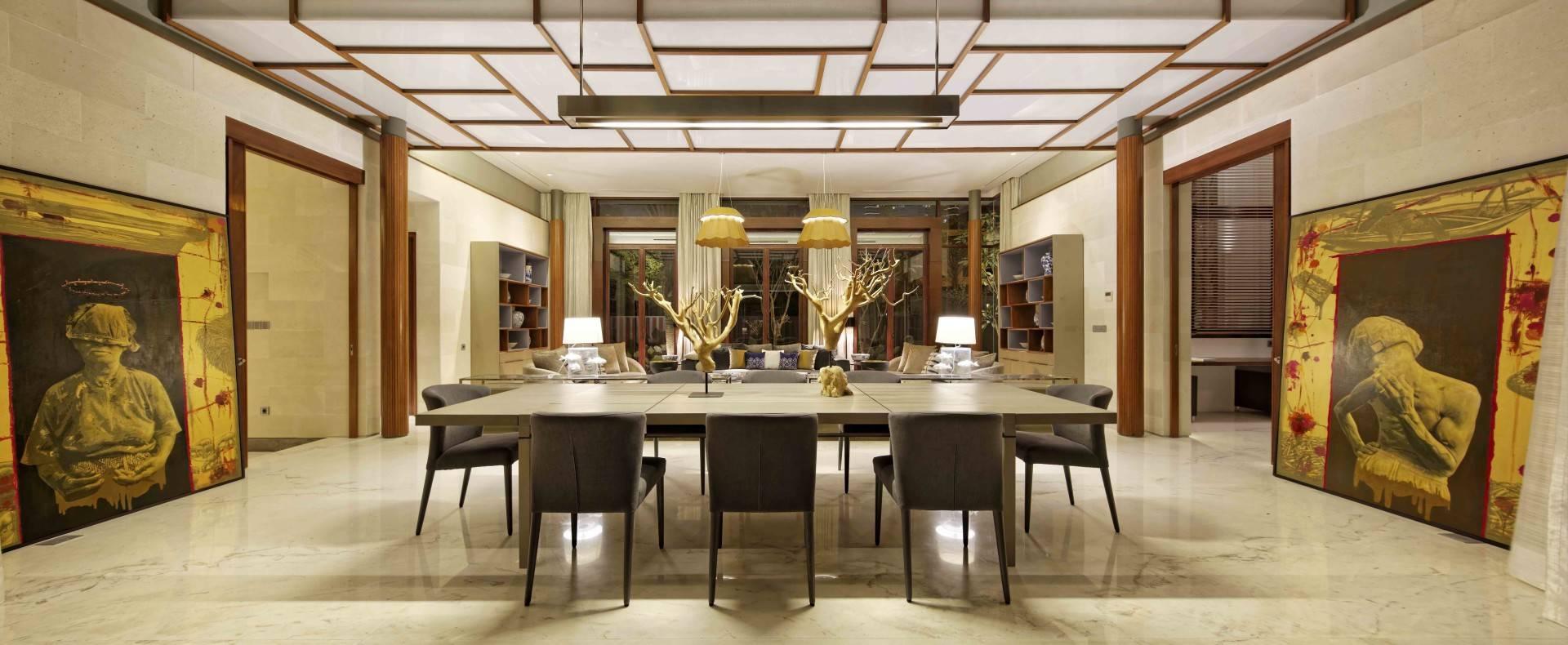 Atelier Cosmas Gozali Denpasar Residence At Kuningan Jakarta, Indonesia Jakarta, Indonesia Dining Room  <P>Photo By Fernando Gomulya</p> 2287