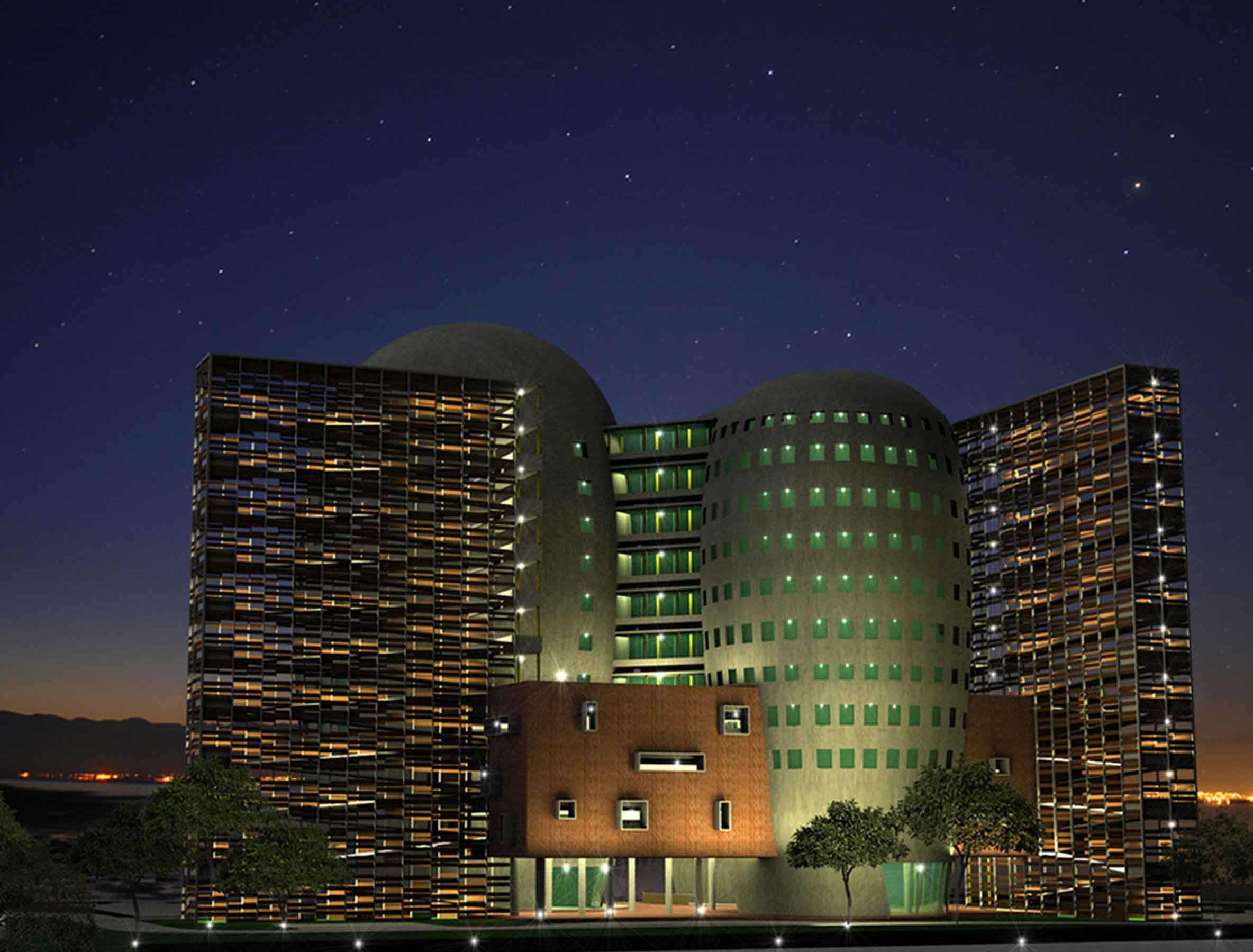 Atelier Cosmas Gozali South Jakarta Goverment Hospital Competition Jakarta Jakarta Perspektif3 Modern  23632