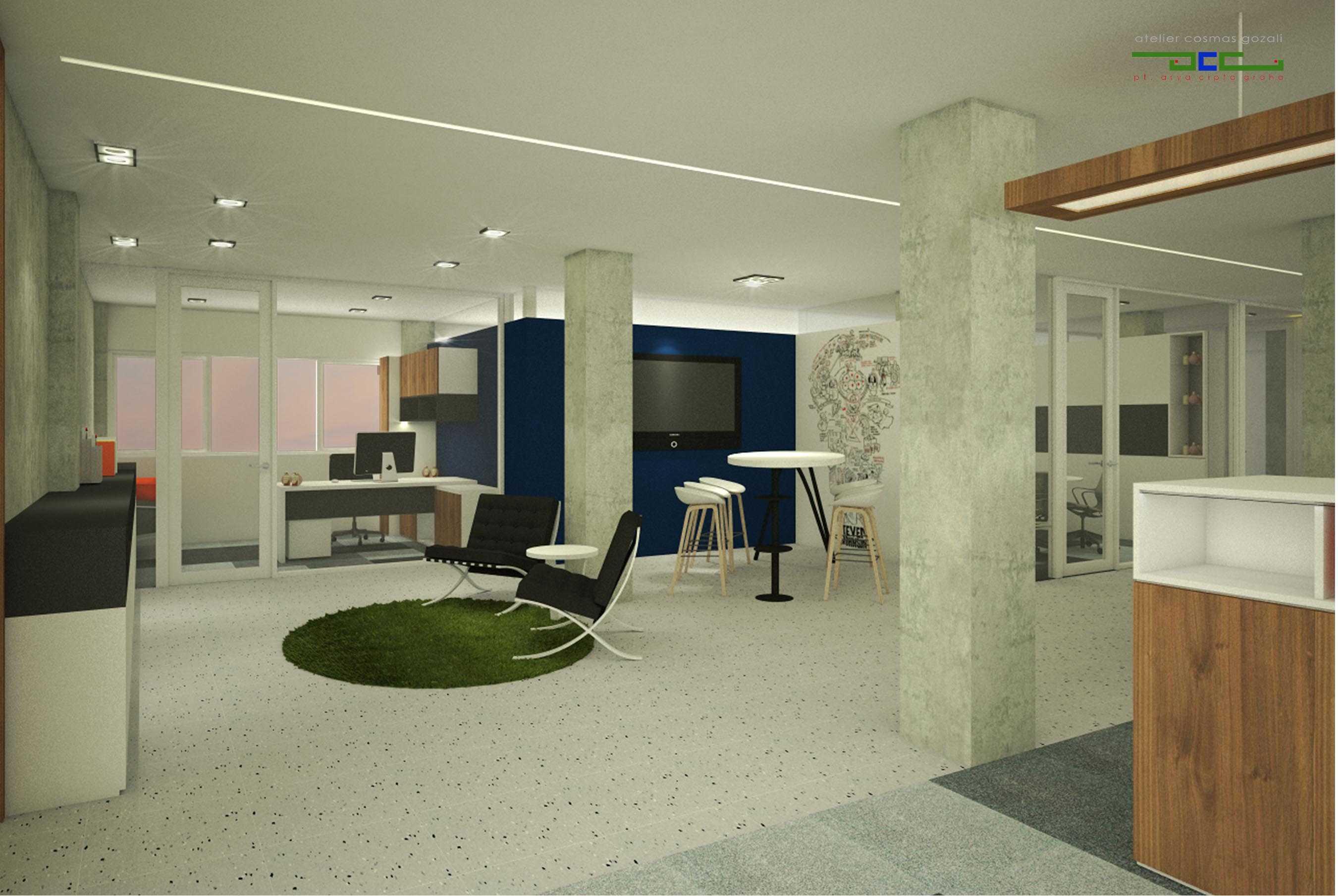 Atelier Cosmas Gozali Office At Otista Jakarta Jakarta Working Area Kontemporer  24664