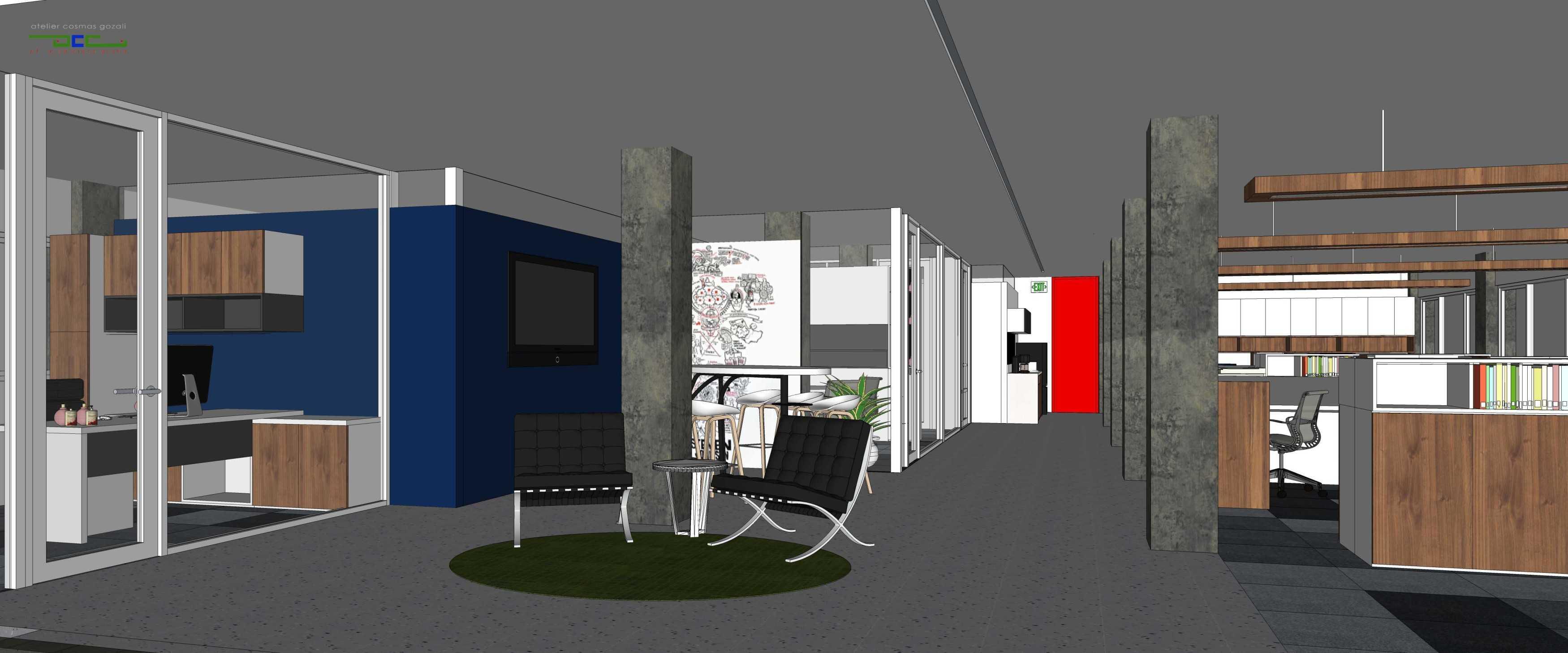 Atelier Cosmas Gozali Office At Otista Jakarta Jakarta Working Area Kontemporer  24666