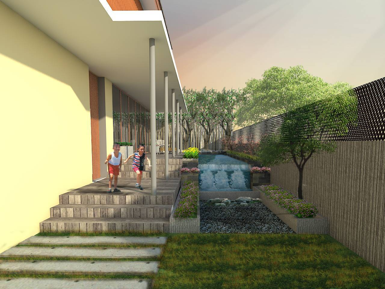 Future Architects Studio Rumah Kisi Asri Pontianak, Indonesia Pontianak, Indonesia Swimming Pool   3522