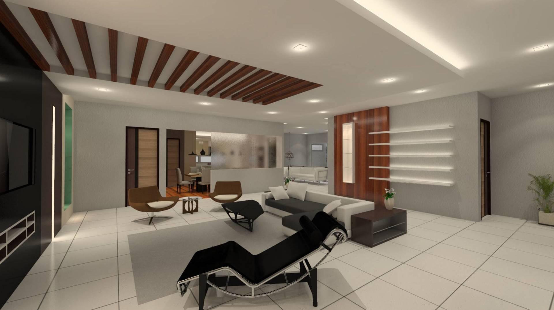 Chai Twin Co Residence At Sui Raya Dalam Pontianak, West Kalimantan Pontianak, West Kalimantan Living Room   2374