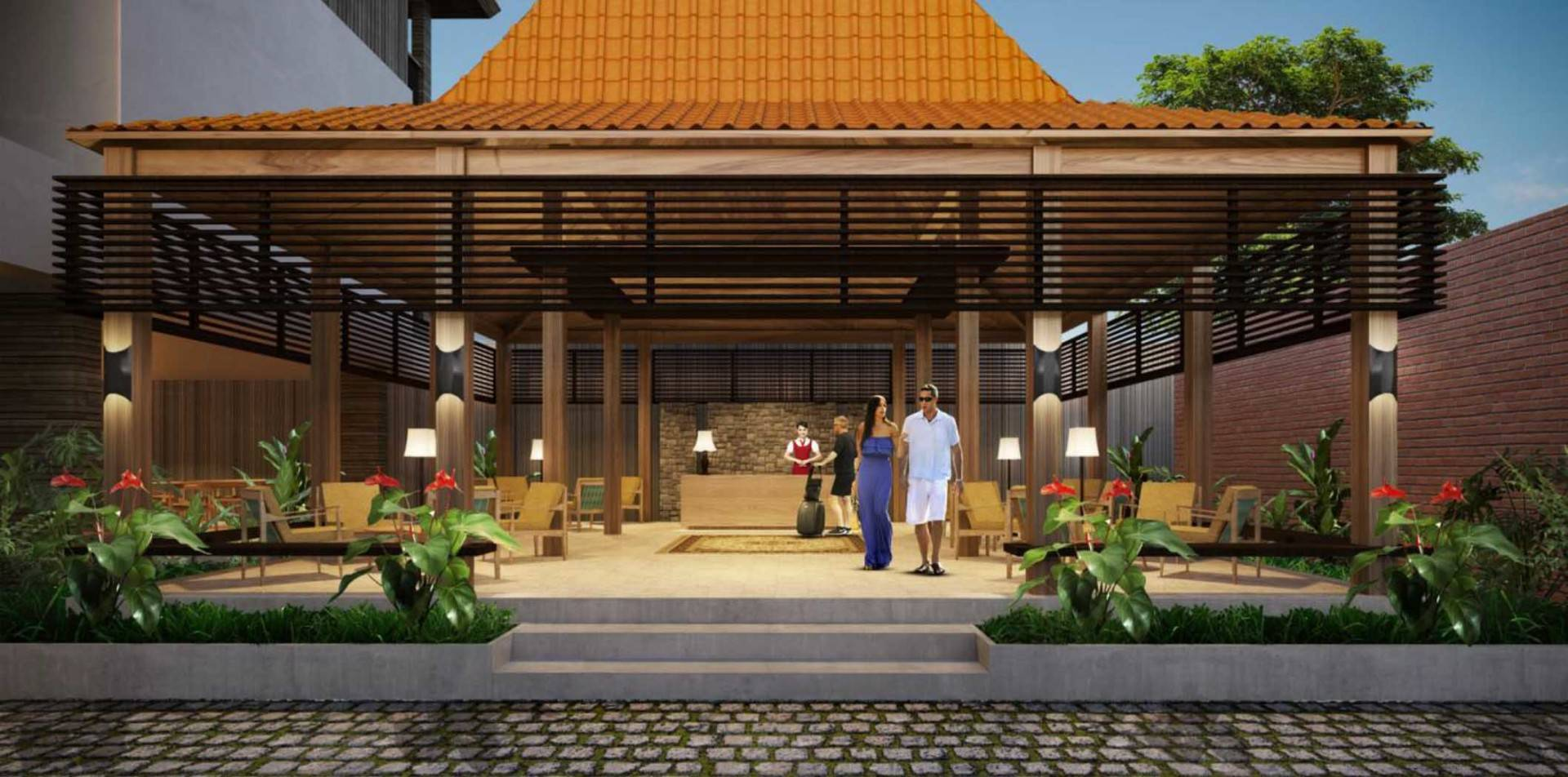 Atelier Prapanca Service Apartment Yogyakarta, Indonesia Yogyakarta, Indonesia Lobby-And-Receptionist-Area Minimalis  7595