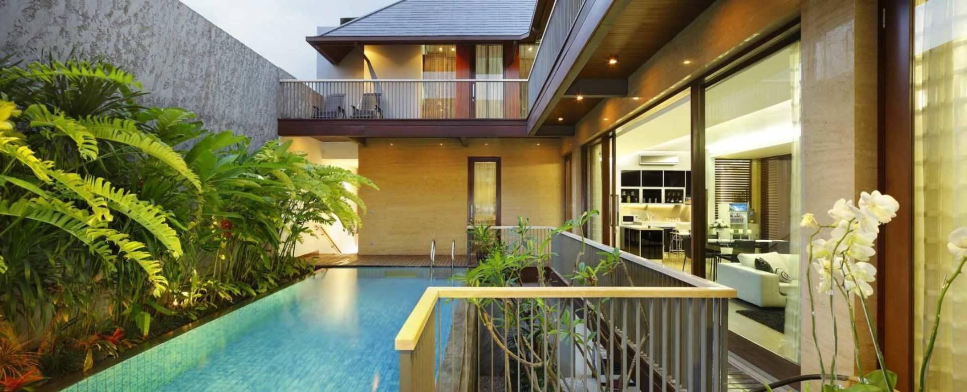 Atelier Prapanca Private Residence At Kebayoran Baru Jakarta Jakarta Swimming-Pool-View Tradisional  7515