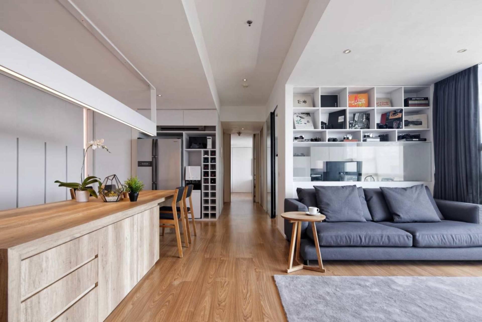 Atelier Prapanca Apartment At Kemang Jakarta Jakarta Living Room Modern  7537