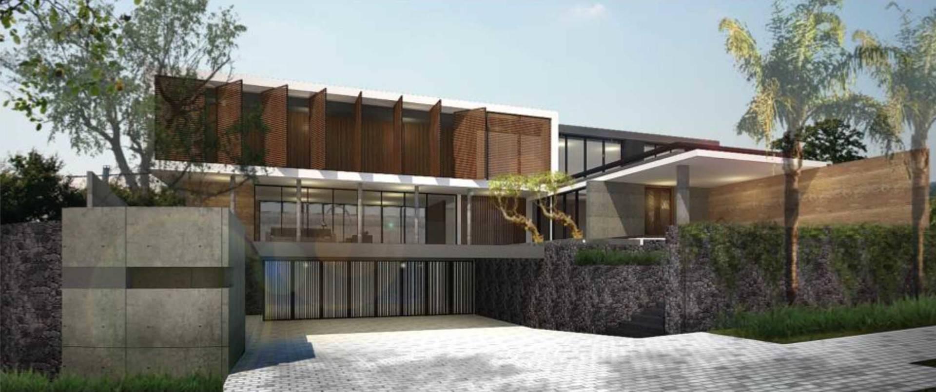 Atelier Prapanca House At Ambon Maluku Maluku Front-View Tropis  7524