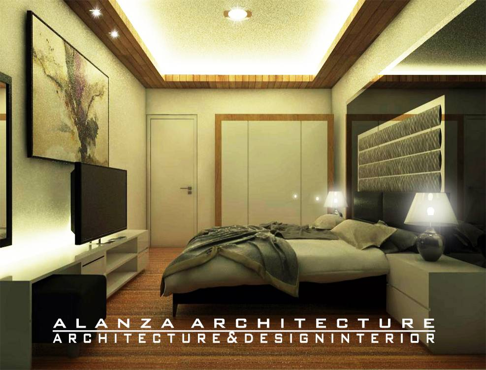 Photo Main Bedroo Interior Design House At Rancamaya 8 Desain Arsitek Oleh Alanza Architecture Arsitag