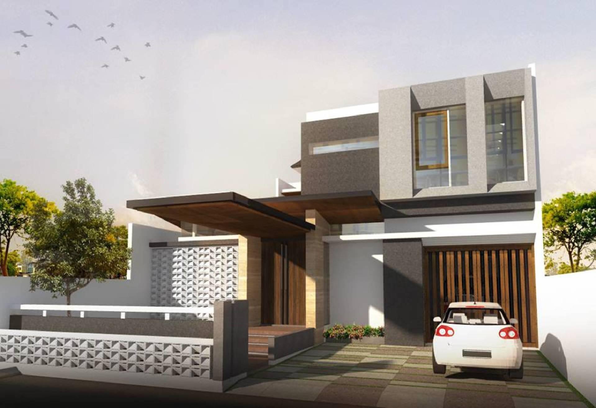 Phidias Indonesia Gura-Gura House Duren Tiga, South Jakarta Duren Tiga, South Jakarta Front View Modern  2437