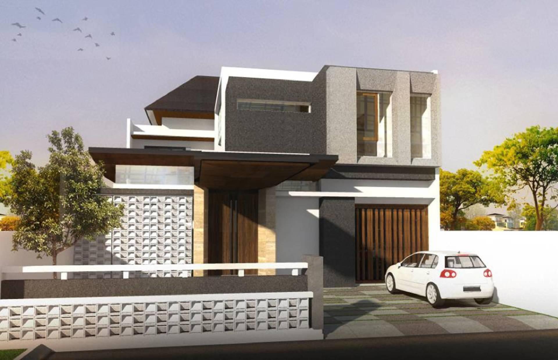 Phidias Indonesia Gura-Gura House Duren Tiga, South Jakarta Duren Tiga, South Jakarta Front View Modern  2438