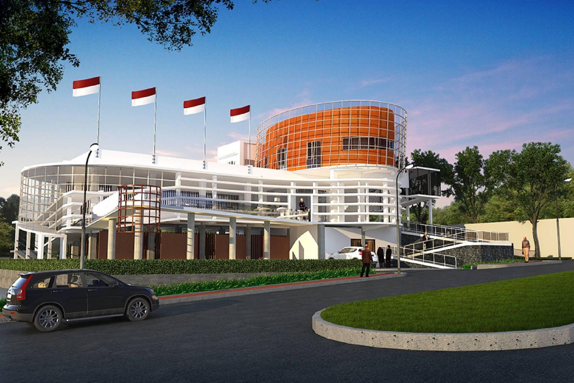 Haris Wibisono, Iai Veteran Building At Kota Batu Malang, East Java, Indonesia Malang, East Java, Indonesia Veteran-Buildingrender3   2532