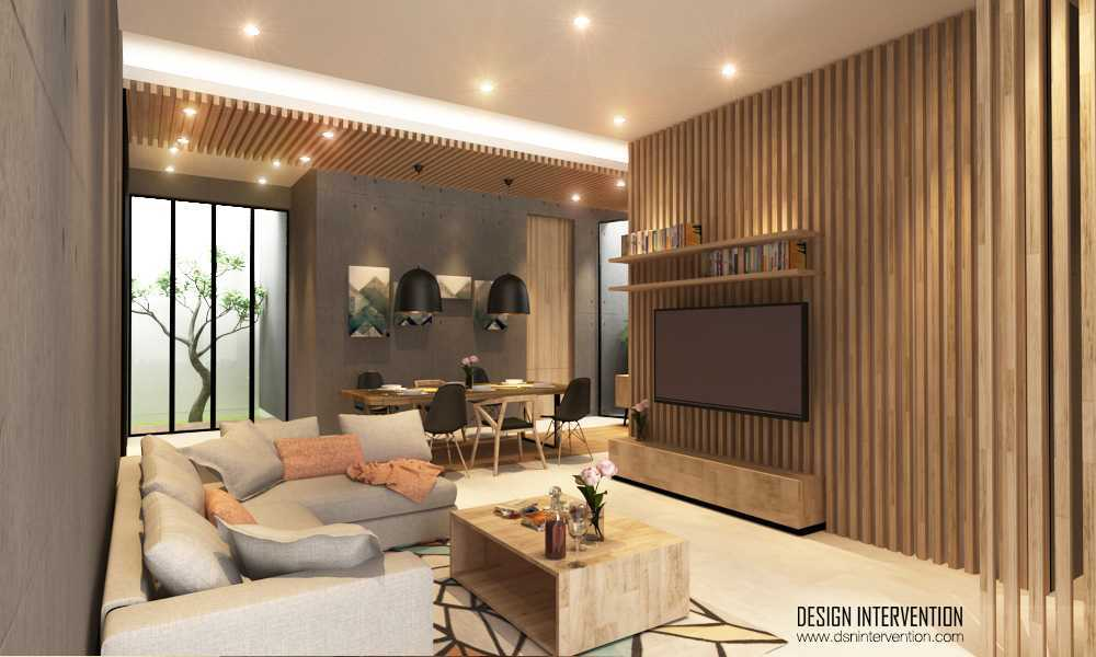 Design Intervention K House Kebayoran Kebayoran Livingroom   13982