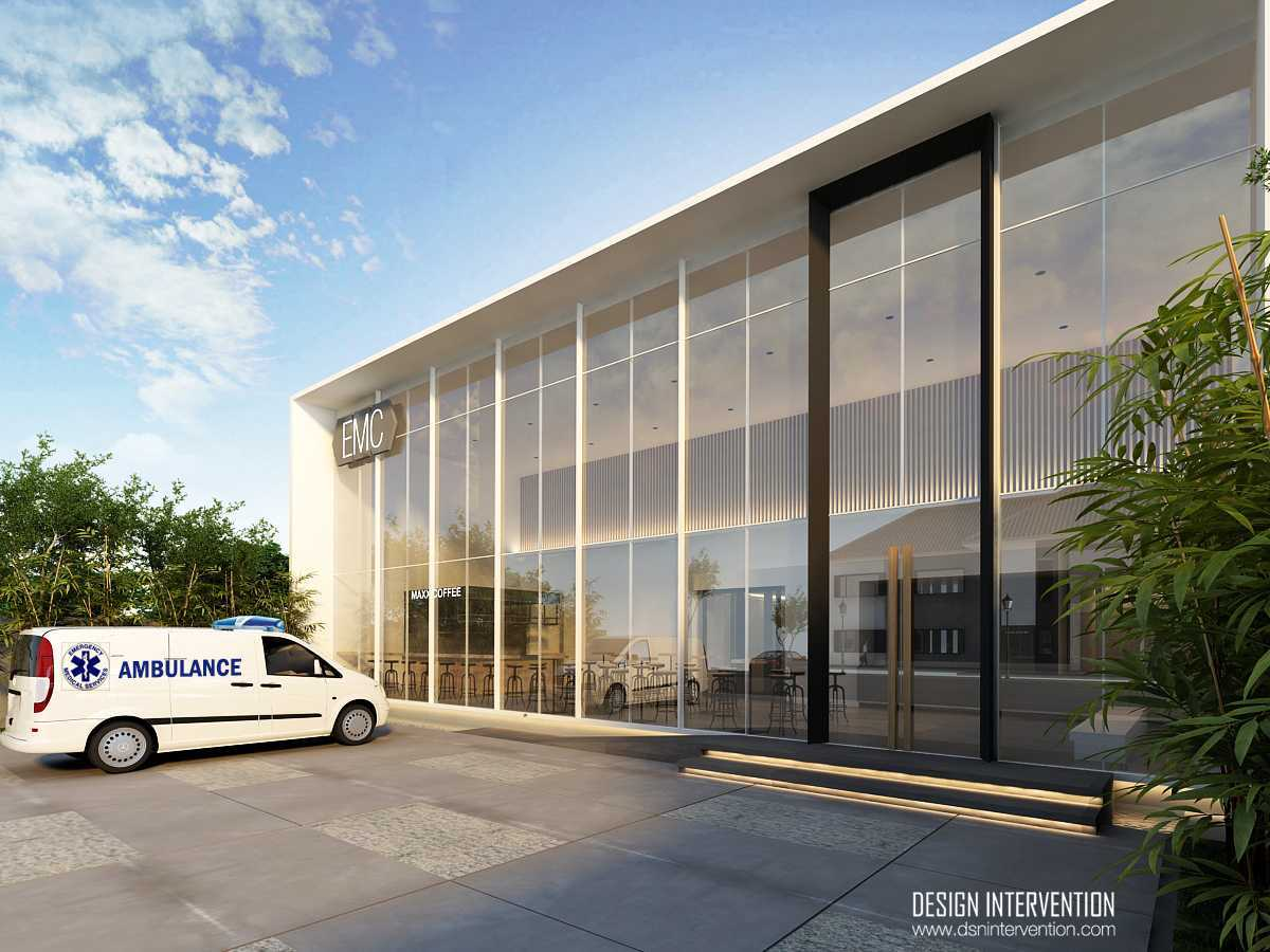 Design Intervention Emc Clinic Cianjur Cianjur Front View   13990