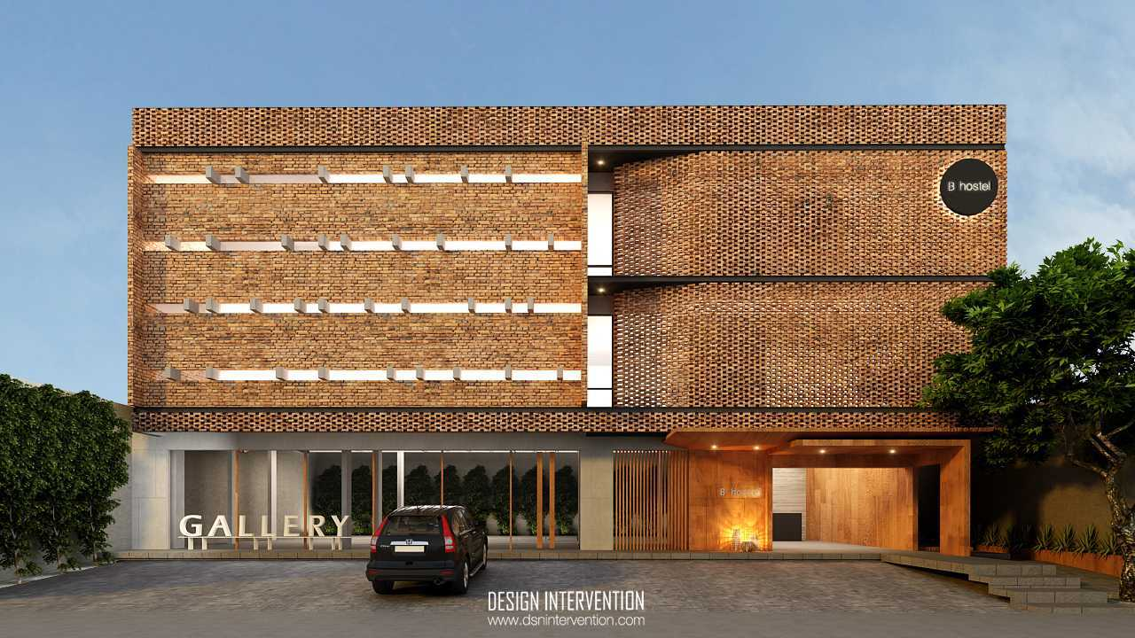 Design Intervention B Hostel Bali Bali Front View   14021