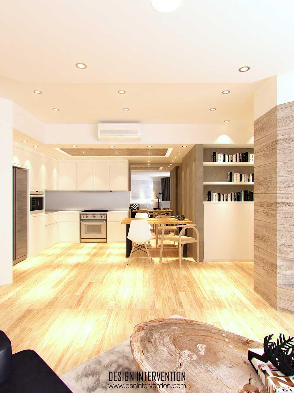 Design Intervention Pk Apartment Puri Kasablanka Apartment Puri Kasablanka Apartment Diningroom Skandinavia  14966