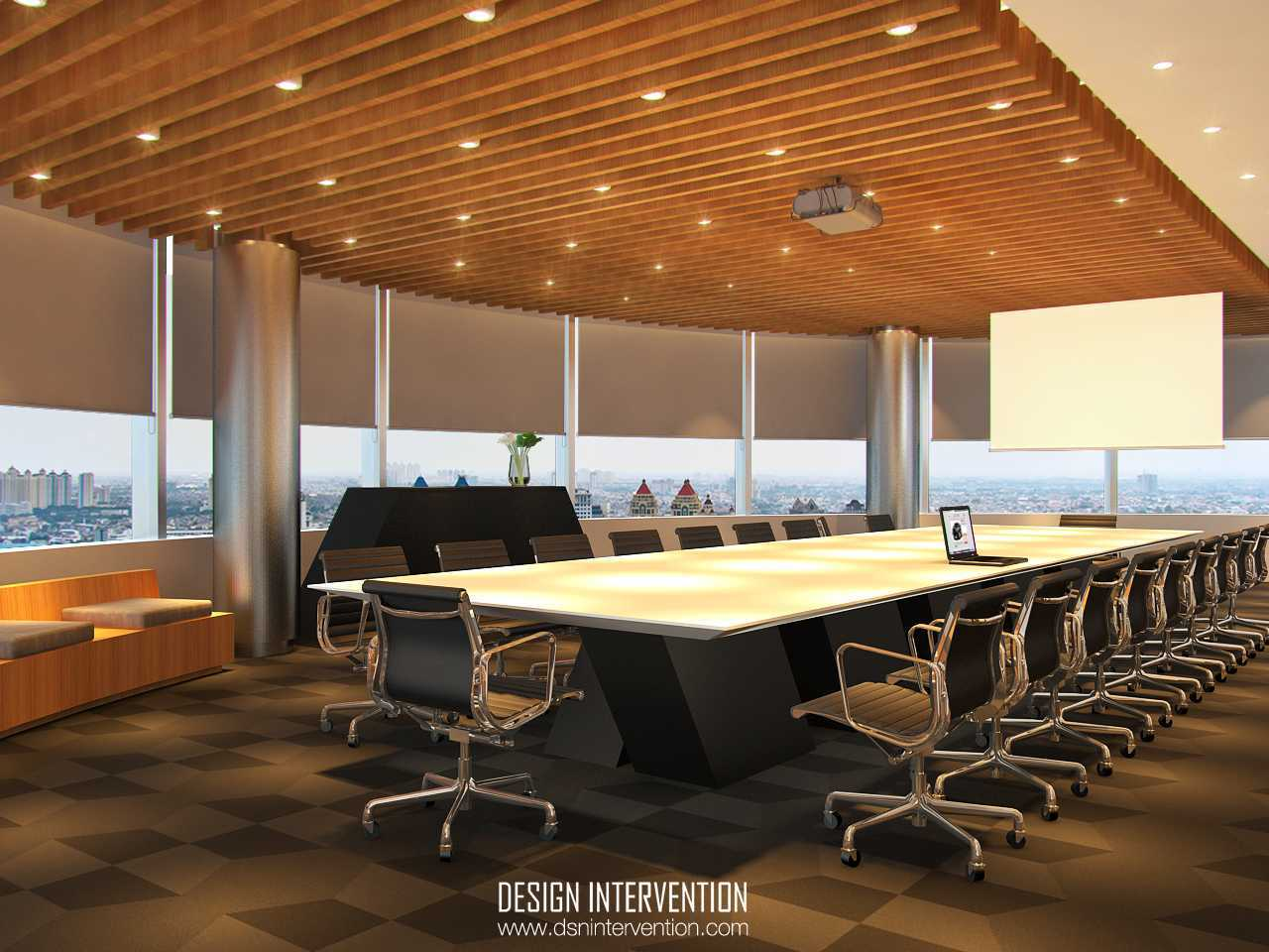 Design Intervention Mitsubishi Hq Office Tebet Tebet Meeting-Room-View   14982