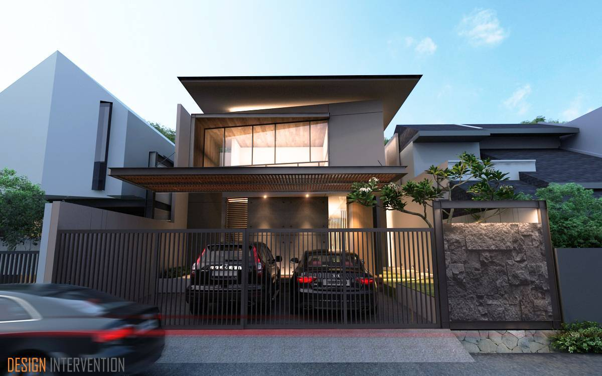 Design Intervention Taman Ratu House Jakarta Jakarta Facade Kontemporer  2540