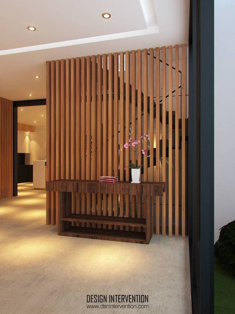 Design Intervention Taman Ratu House Jakarta Jakarta Entrance Kontemporer  2542