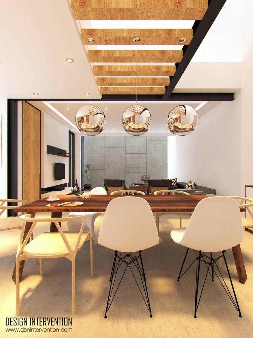 Design Intervention Taman Ratu House Jakarta Jakarta Living-Room Kontemporer  2545