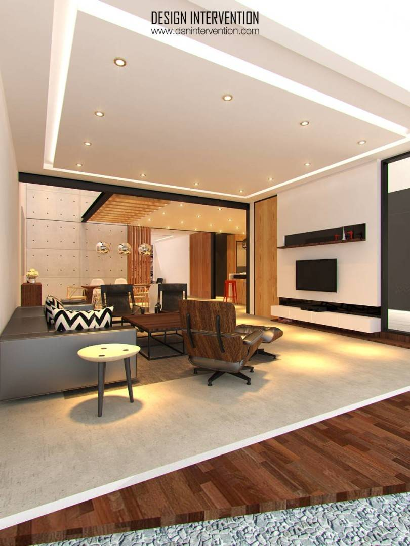 Design Intervention Taman Ratu House Jakarta Jakarta Living Room Kontemporer  2546