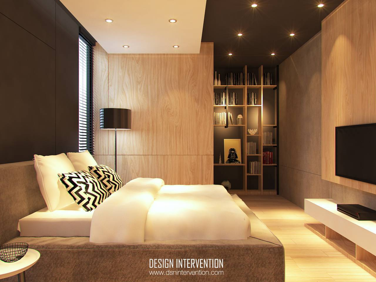 Design Intervention Taman Ratu House Jakarta Jakarta Bedroom Kontemporer  2549