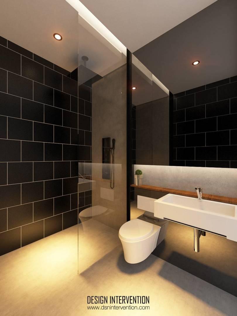 Design Intervention Taman Ratu House Jakarta Jakarta Bathroom Kontemporer  2551