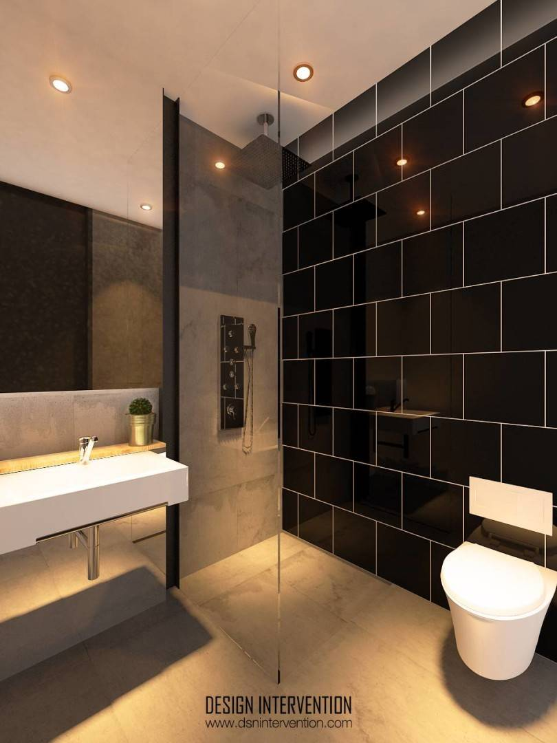 Design Intervention Taman Ratu House Jakarta Jakarta Bathroom-Fl-2 Kontemporer  2553