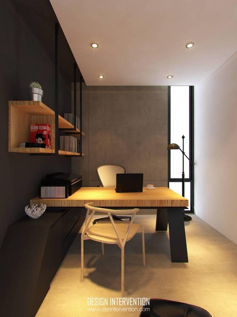 Design Intervention Taman Ratu House Jakarta Jakarta Working-Room Kontemporer  2554