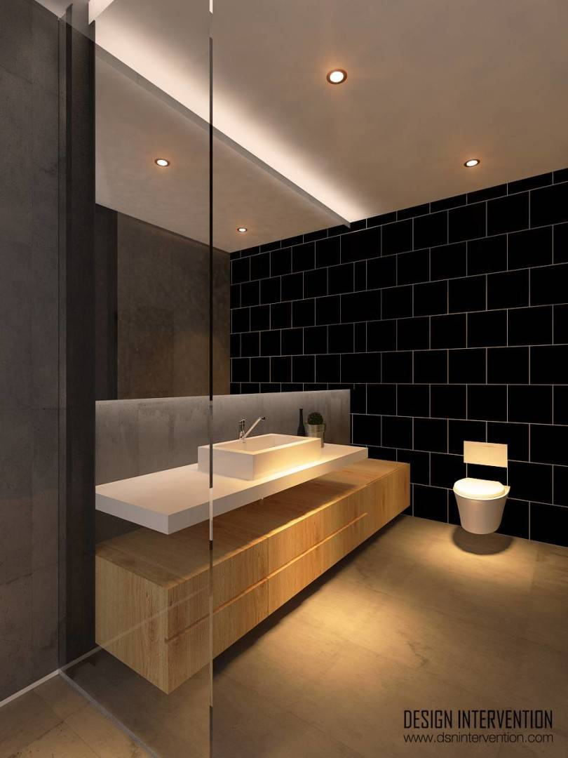 Design Intervention Taman Ratu House Jakarta Jakarta Bathroom-Fl-2 Kontemporer  2556