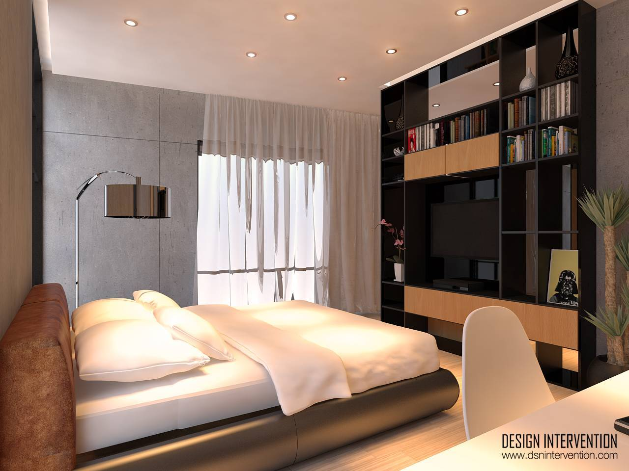 Design Intervention Taman Ratu House Jakarta Jakarta Bedroom-Fl-2 Kontemporer  2557
