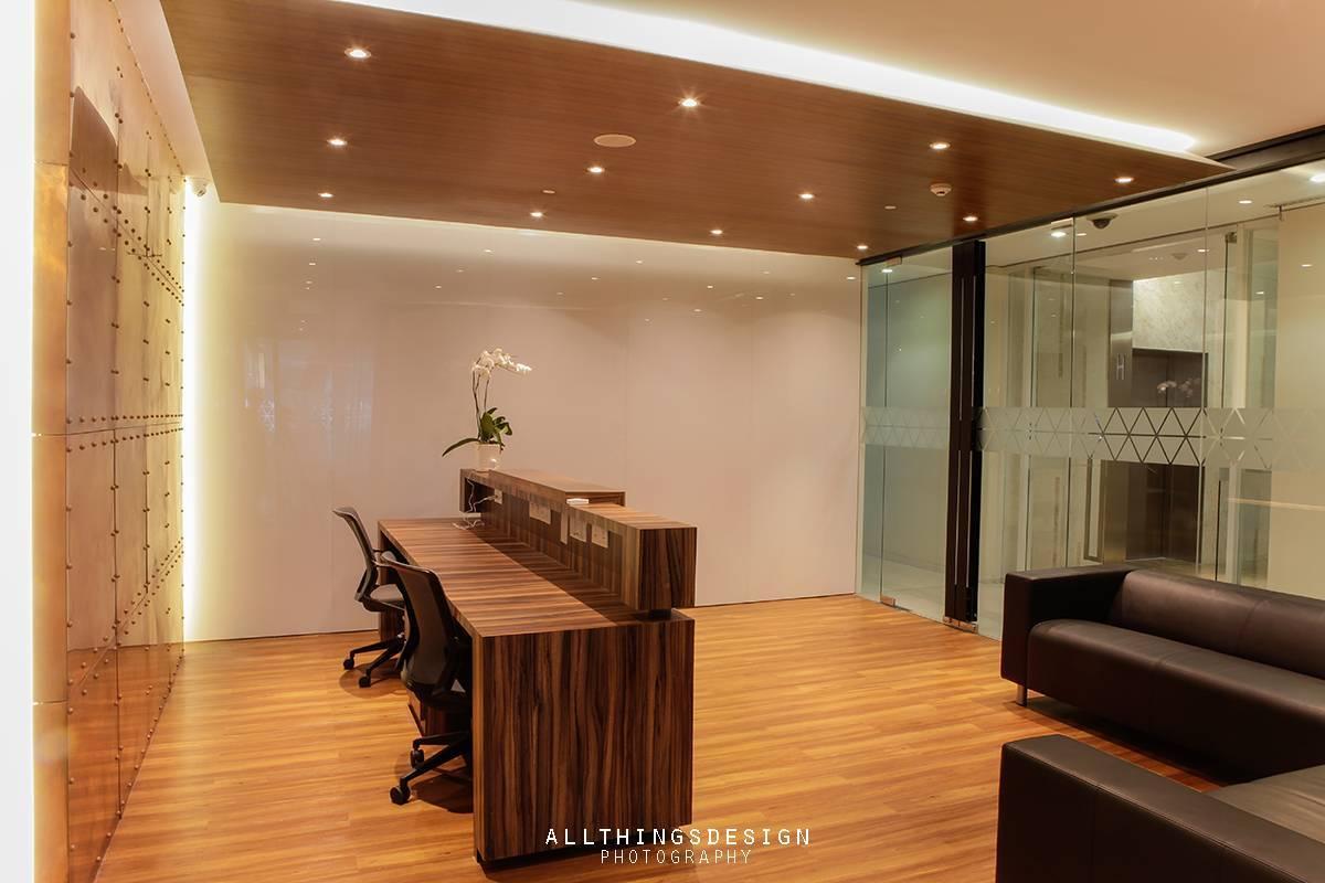 Design Intervention Antam Niterra Haltim Office At Dbs Tower Kuningan Jakarta, Indonesia Jakarta, Indonesia Reception Area Minimalis,modern,glass  2602