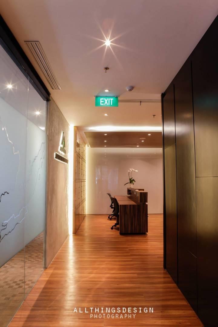 Design Intervention Antam Niterra Haltim Office At Dbs Tower Kuningan Jakarta, Indonesia Jakarta, Indonesia Reception Area Minimalis,modern,glass  2603