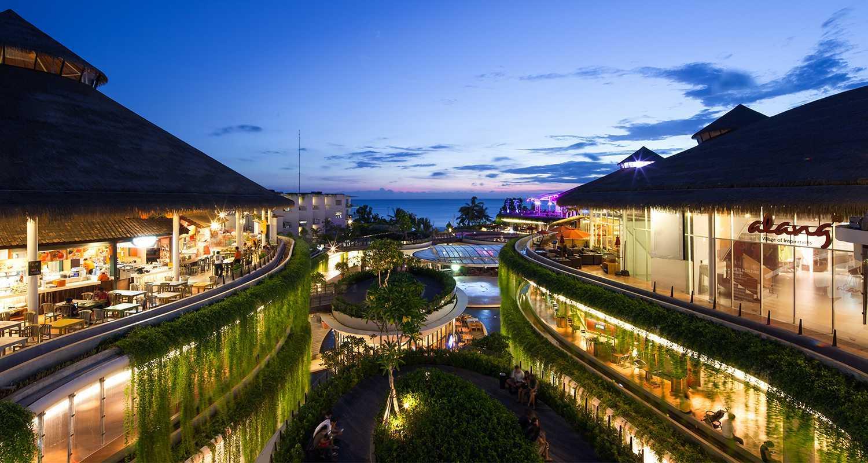 Enviro Tec Sklr Beachwalk Bali Kuta Bali Bali Night View Tropis  14647