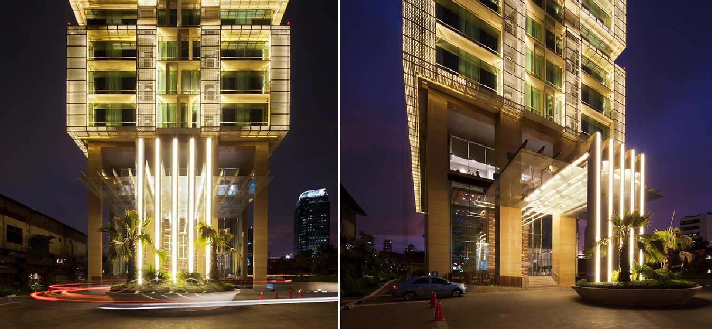 Enviro Tec Fraser Residence Menteng Jakarta Jakarta Facade View At Night Modern  14712