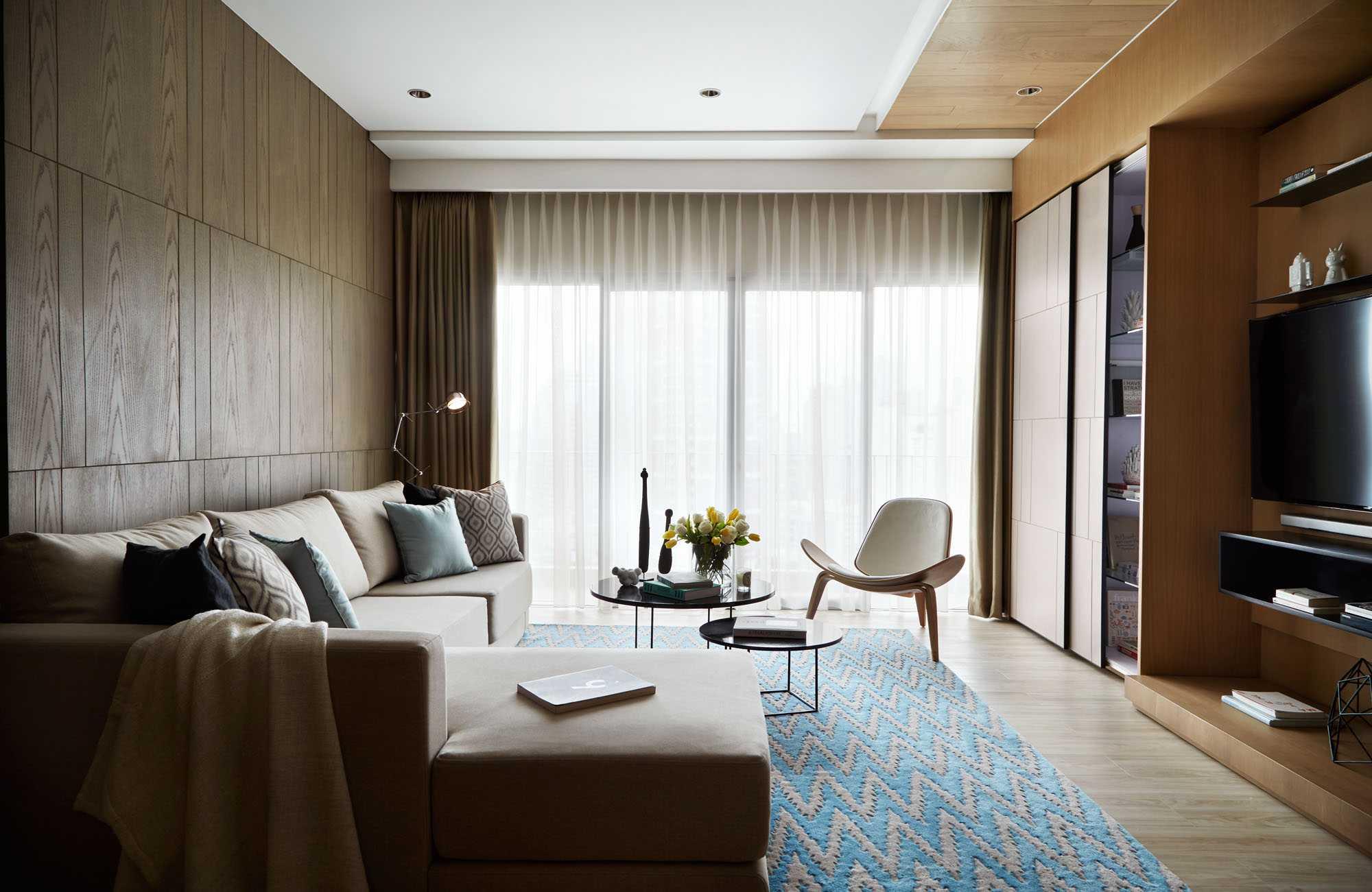 Enviro Tec Capital Residence Jakarta Jakarta Living Room Scandinavian  14752