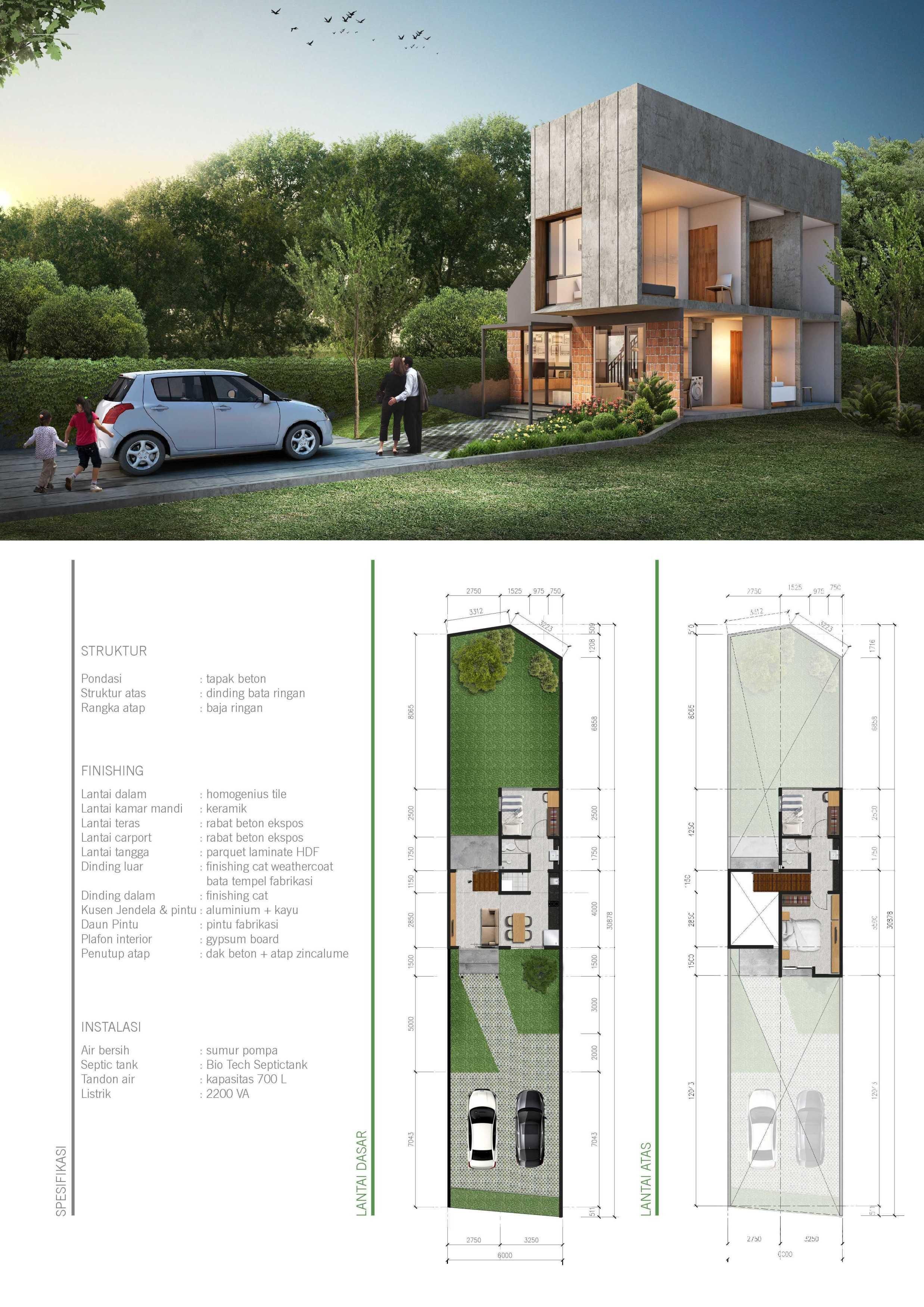 J+A Design The Blessed Houses Bintaro, Tangerang Selatan Bintaro, Tangerang Selatan E-Brochure-The-Blessedpage2 Tropis,minimalis,industrial,modern,kontemporer  26201