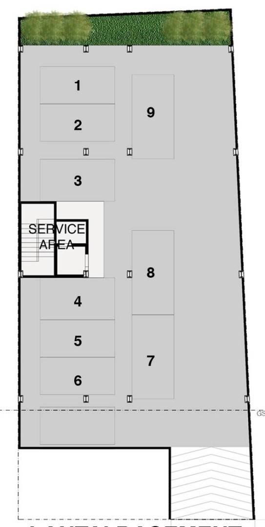 Lewin Nuramin Lembong Land Bandung, West Java, Indonesia Bandung, West Java, Indonesia Basement-Floor-Plan   4581