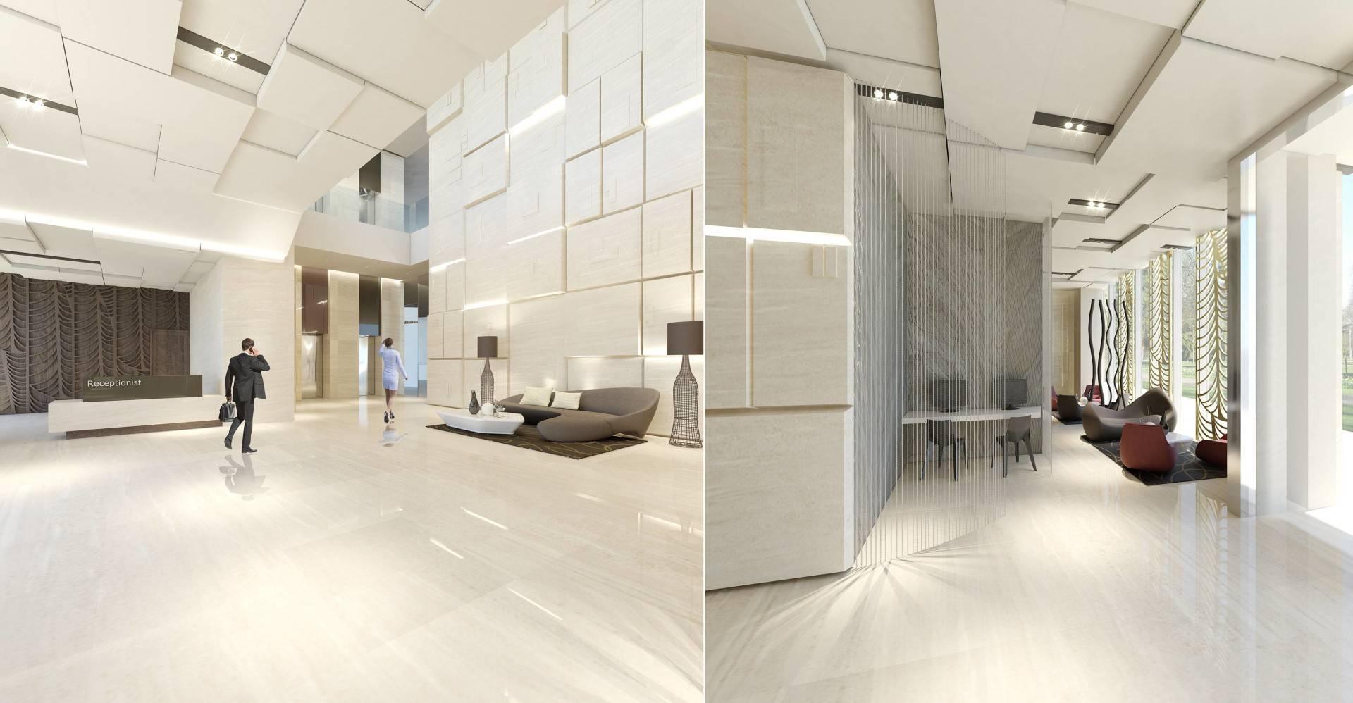 Small Space Interior Sudirman Hill  Jakarta, Indonesia Jakarta, Indonesia Lobby-Apartment2   6470