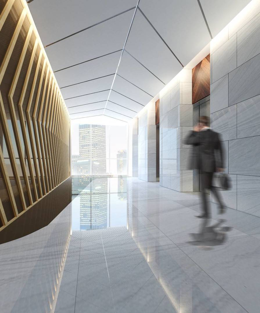 Small Space Interior Sudirman Hill  Jakarta, Indonesia Jakarta, Indonesia Lobby-Lift-Apartment   6473