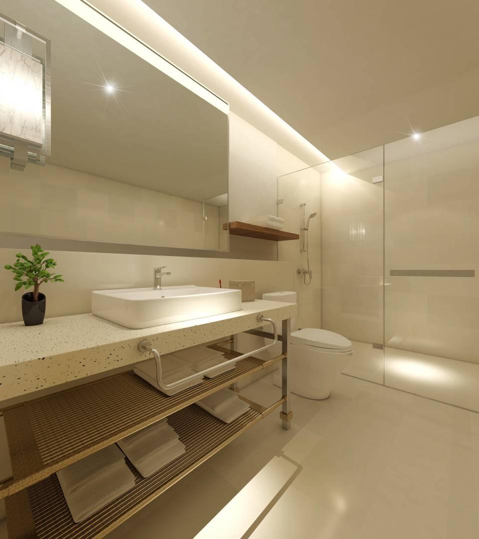 Small Space Interior Sudirman Hill  Jakarta, Indonesia Jakarta, Indonesia Bathroom-Suite3   6486