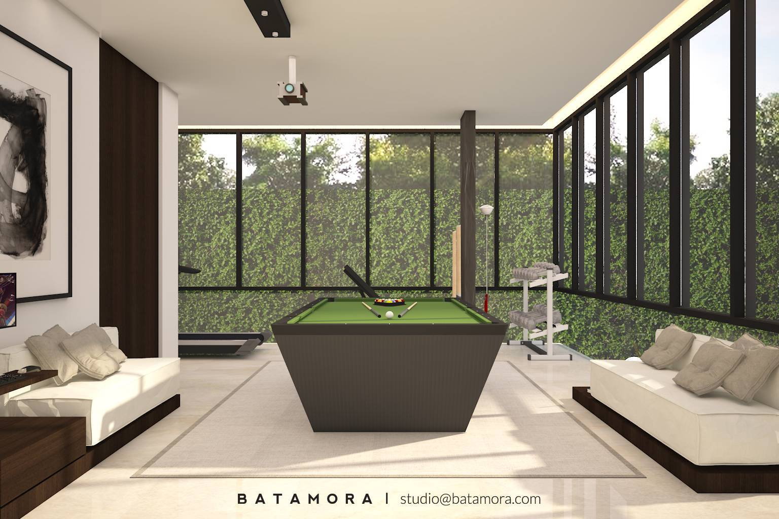 Batamora Martimbang House At Kebayoran Baru Jakarta Jakarta Entertainment-Room2   2692