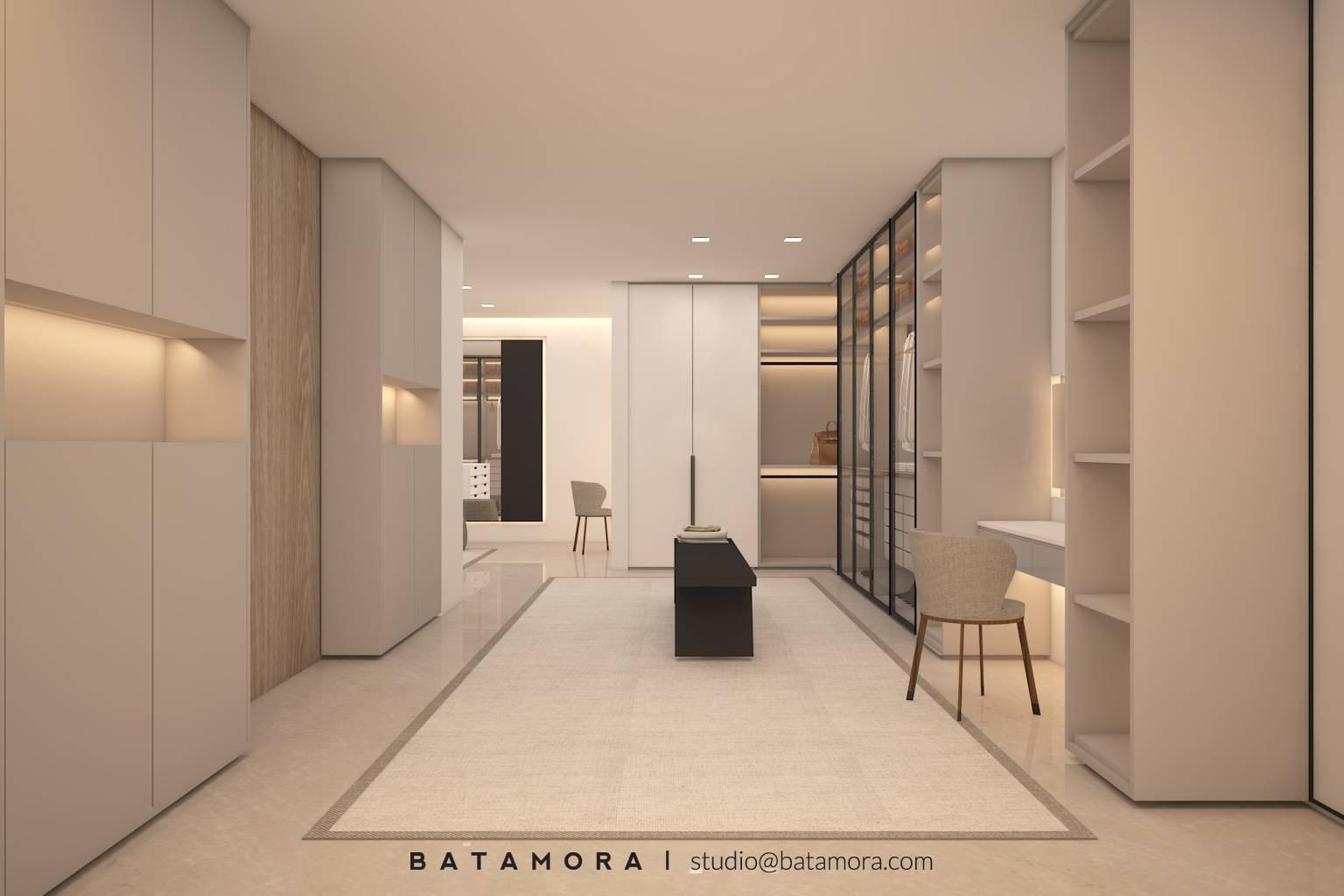 Batamora Martimbang House At Kebayoran Baru Jakarta Jakarta Master Bedroom - Wardrobe   2701