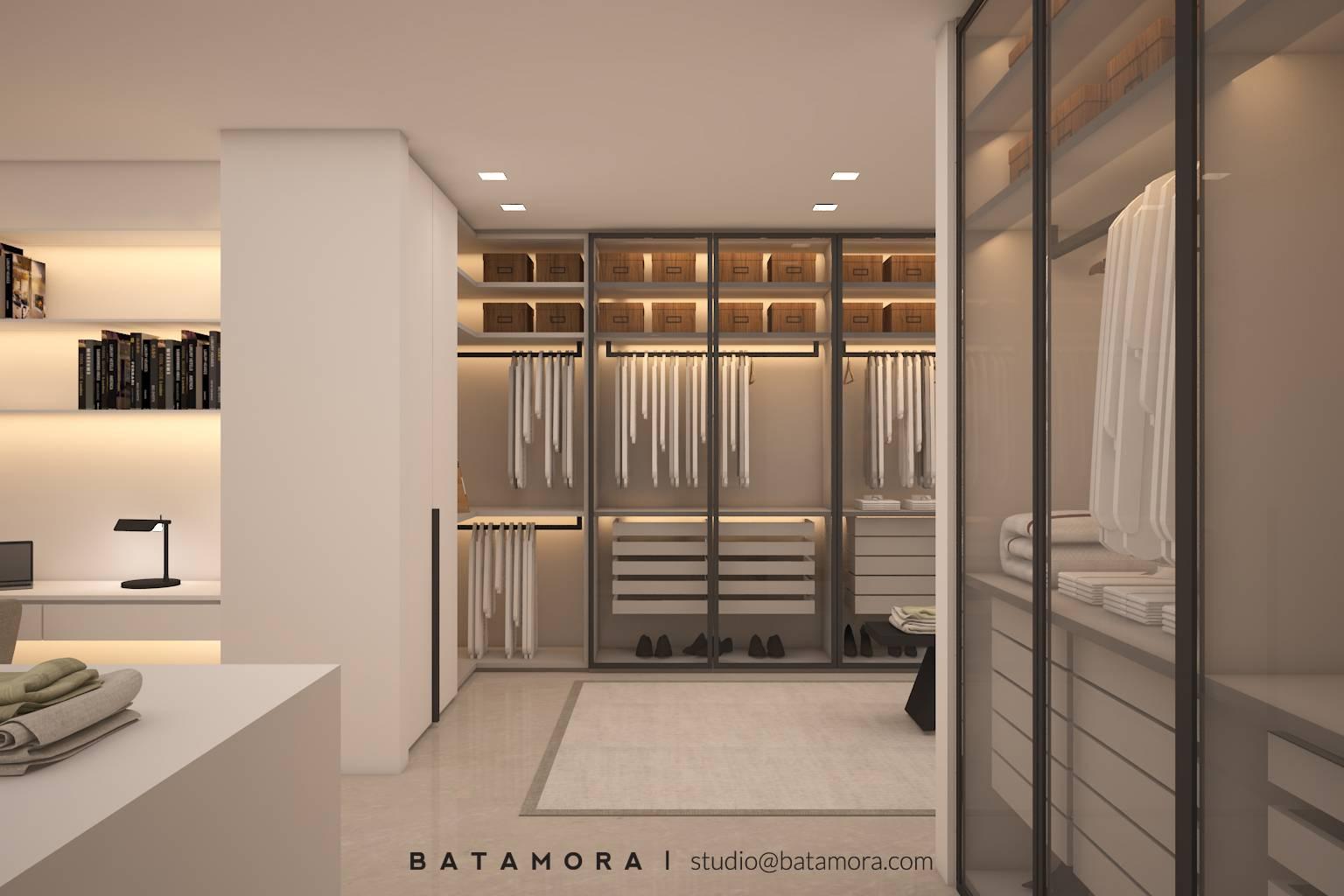 Batamora Martimbang House At Kebayoran Baru Jakarta Jakarta Master Bedroom Wardrobe   2703
