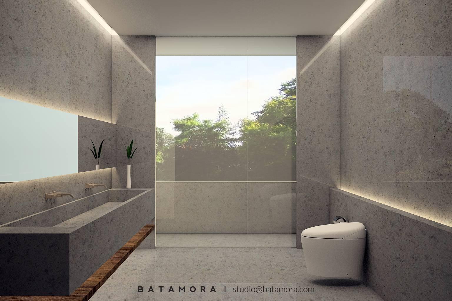 Batamora Bandungan House At Semarang Middle Java Middle Java Bathroom Modern  2713
