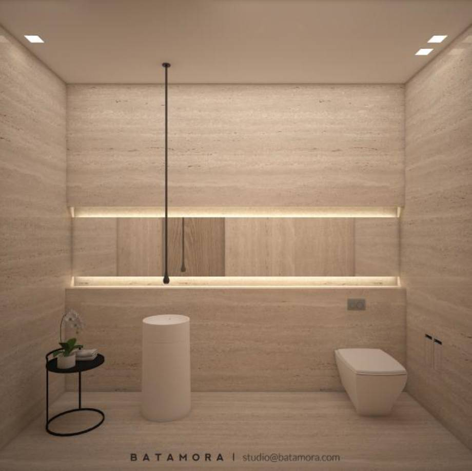 Batamora Bandungan House At Semarang Middle Java Middle Java Bathroom Modern  2716