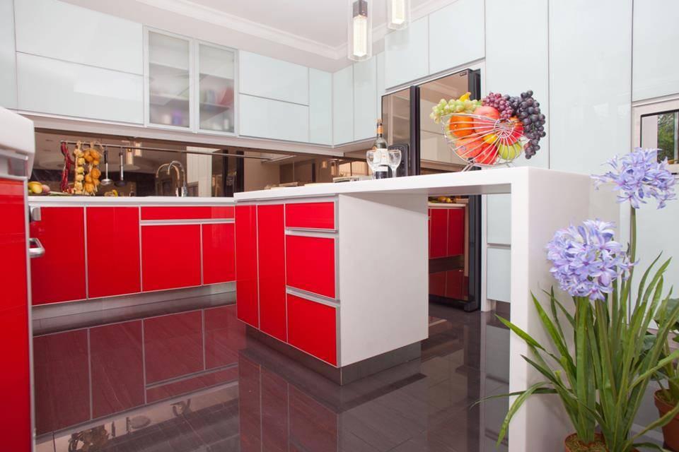 Zeno Living Modern Minimalist Kitchen-Red And White Jakarta  Jakarta  Modern-Minimalist-Kitchen-Red-And-White   2752
