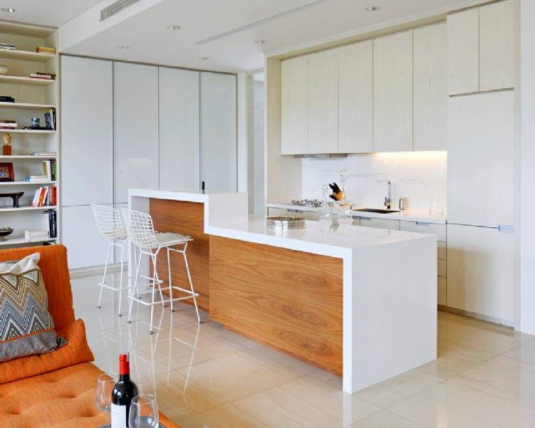 Zeno Living Modern White Kitchen Design Jakarta Jakarta Modern-White-Kitchen-Design-3   2759