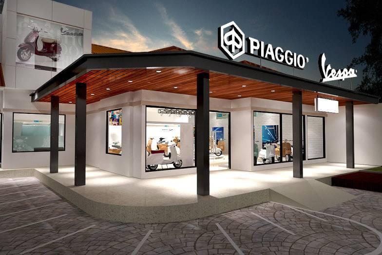 Tito Lukito Vespark Piaggio Vespa 3S Showpark  Dealer At Medan Medan, North Sumatera Medan, North Sumatera Facade-View   2805